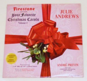 Firestone Presents Your Favorite Christmas Carols 1966 lp Volume 5 mlp-7012