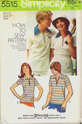 Simplicity Pattern 5515 Miss Size 12 Shirt