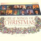 Great Songs of Christmas lp Record 4 Various Artists 1960 csp 155 s