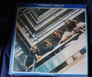 The Beatles 1967-1970 Double Record LP Set 1973 skbo 3404