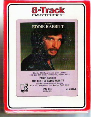 The Best of Eddie Rabbitt 8 Track Sealed New 1970s s 134109