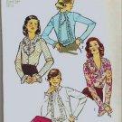 Rare 1973 Simplicity Uncut Pattern 5981 Sz 12 Blouse