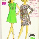 Simplicity Pattern 8181 Miss Size 12 Jiffy Dress - 1969