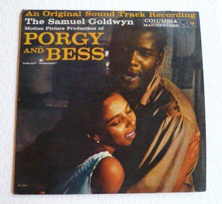 Porgy and Bess 1959 Original Sound Track lp Samuel Goldwyn - ol5410