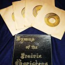Old Hymns of the Prairie Choristers Four Red Vinyl 45 Boxed Set