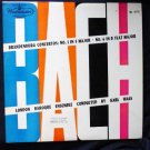 Bach Concertos No. 1 in F Major - 6 in B Flat Major lp 1952 Haas wl5172