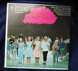 The Wonderful King Family 1960s lp hs 11293