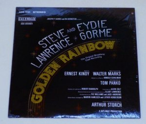 Golden Rainbow Soundtrack Album kos-1001 with Steve Lawrence Eydie Gorme