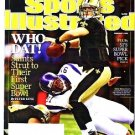 Sports Illustrated February 1 2010 - Unread - Peyton Saints Firstst Super Bowl Drew Bees
