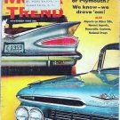 1958 Original Motor Trend Magazine November