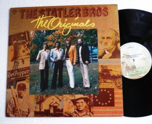 The Originals lp - The Statler Brothers 1979 Mercury srm 15016 Mint