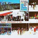 Lake Placid N Y 1980 Winter Olympic souvenir postcard