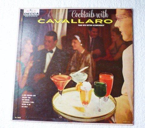 Cocktails With Cavallaro - Original lp dl 8805