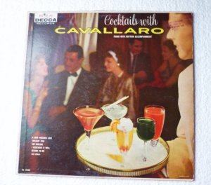 Cocktails With Cavallaro - Original lp dl 8805