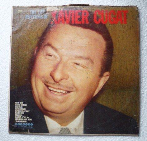 The Latin Rhythms of Xavier Cugat lp hl-7271 Rare
