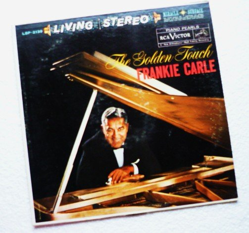 The Golden Touch - Frankie Carle lp lsp-2139 rca Victor vg+