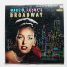 Martin Dennys Exotic Sounds Visit Broadway 1960 Lp lst 7163