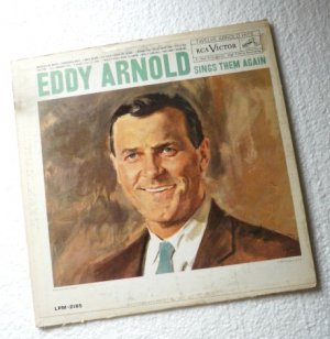 Eddy Arnold Sings Them Again 1960 lp lpm-2185