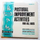 Postural Improvement Activities for all Ages Rare lp Set of 4 No. 25 -1964 - wts-x2002