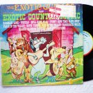 The Exotic Guitars Play Exotic Country Music lp Ranwood Stereo R8080