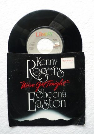 45 rpm: Kenny Rogers and Sheena Easton You Are so Beautiful/Weve Got Tonight