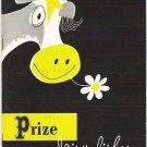 1st Prize Dairy Dishes by the National Dairy Council 1955