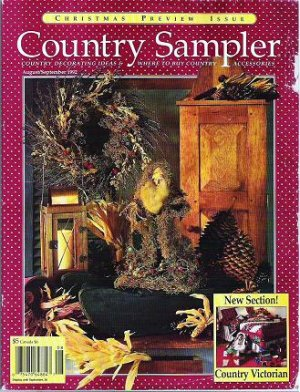 country sampler decorating ideas for christmas decorating ideas