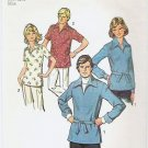 Simplicity 1974 Pattern 6436 Misses Pullover Shirt Size 10
