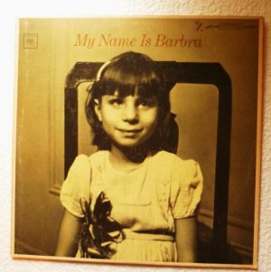 My Name is Barbra Album by Barbra Streisand - Columbia Stereo cs9136 Orange Label