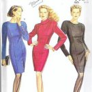 Simplicity New Look Pattern 6624 Long Sleeve Dress Szs 8-18