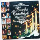 Carols and Candlelight lp p12525 by A Kostelanetz, Kate Smith, John Davidson, Julie Andrews, etc