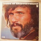 Songs of Kristofferson by Kris Kristofferson 1977 lp pz34687