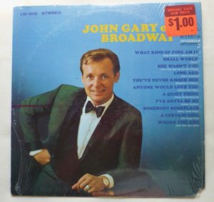 John Gary On Broadway lsp-3928 1968 Stereo lp