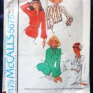 McCalls Sewing Pattern 5675 Set of Blouses Misses Size 8