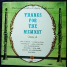 Thanks for the Memory lp Volume III Longines Symphonette Various Artists