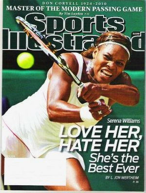Sports Illustrated July 12 2010 - Unread - Don Coryell Serena Williams LeBron James