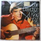 A Kind of Hush lp - John Davidson cl2734 Clean
