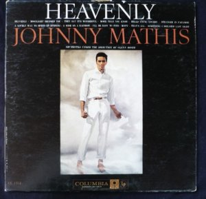 Heavenly lp Johnny Mathis - Glenn Osser Columbia cl 1351