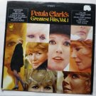 Petula Clarks Greatest Hits 1968 lp Vol 1 ws 1765