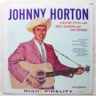 Johnny Horton lp Country Style w Billy Barton and Don Hughes clp 5290
