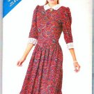 Butterick 1987 See and Sew Pattern 5695 Misses Size 6-8-10 Dress