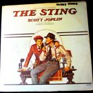 The Sting lp 1974 with Paul Newman Robert Redford and Robert Shaw mca 2040