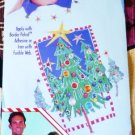 New: Easy No-Sew Fabric Applique Christmas Trimmed Tree Trio designed by Back Street