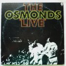 The Osmonds Live 2 Album Set se-4826 Gatefold 1972