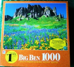 Unopened Puzzle Tonto National Forest Arizona Big Ben 1000 Piece Sealed