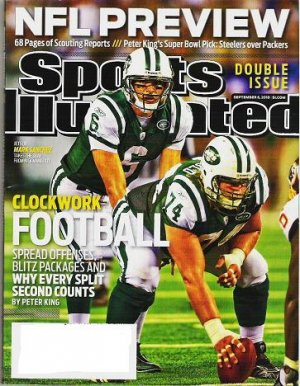 Sports Illustrated Sept 6 2010 - Unread - Double Issue Nfl Preview