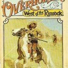 West of the Rimrock - Wayne D Overholser 1974 Western