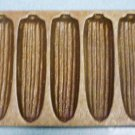 Vintage Cast Iron Corn Bread Pan Corn Cob Shapes Bake 7 - Marked H 2