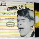 Johnnie Rays Greatest 45 eg-7021 Epic 1950s