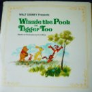 Winnie the Pooh and Tigger Too lp Walt Disney 3813 A A Milne